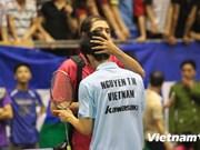 Badmintonista vietnamita eliminado en torneo de Taipei