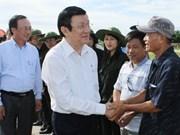 Presidente vietnamita reclama más inversiones en isla norteña