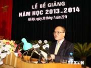 Academia de Defensa vietnamita debe perfeccionar calidad de formación