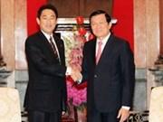 Confianza política impulsará nexos Vietnam-Japón, afirma presidente