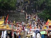 Inauguran festival tradicional del palacio Hue Nam
