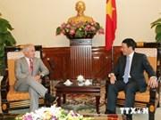 Vietnam interesado en forjar cooperación legislativa con EE.UU.