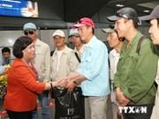 Centenares vietnamitas regresan de Libia