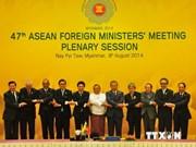 Clausuran Conferencia de Cancilleres de ASEAN