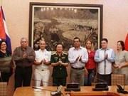 En desarrollo constante lazos entre ejércitos vietnamita y cubano
