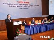 Diplomacia multilateral, instrumento eficaz para el desarrollo