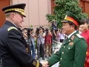 Visita Vietnam presidente del Estado Mayor Conjunto de EE.UU.