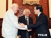 Presidente vietnamita recibe a estudiosos marxistas