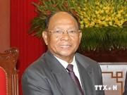 Presidente parlamentario de Cambodia inicia visita a Vietnam