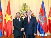 Presidente del Parlamento cambodiano concluye visita a Vietnam