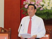 Alto dirigente vietnamita promoverá en China buenas relaciones, declaró vocero