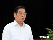Alto dirigente partidista vietnamita visita China
