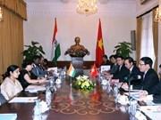 Relaciones Vietnam-India con nuevas perspectivas