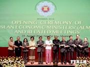 Ministros de economía de ASEAN se reúnen en Myanmar