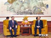 De visita en China alto dirigente partidista vietnamita