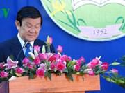 Felicitación presidencial a profesores y alumnos en nuevo año escolar