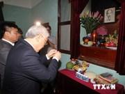 Líder partidista rinde tributo al Presidente Ho Chi Minh