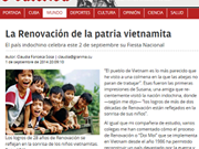 Prensa cubana resalta logros de renovación de Vietnam