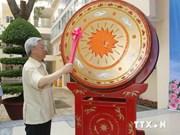 Líder partidista asiste a inicio de curso escolar en Hanoi
