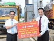 Lao Cai dona arroz a víctimas del terremoto de China