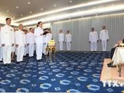 Gabinete provisional de Tailandia presta juramento