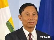Presidente parlamentario de Myanmar inicia visita a Vietnam