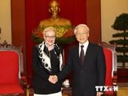 Recibe Nguyen Phu Trong a la titular de Cámara de Representantes de Australia