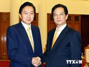 Premier vietnamita elogia contribuciones de ex dirigente japonés