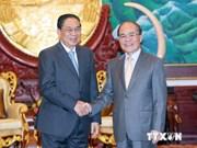 Destacan lazos especiales entre Vietnam y Laos