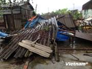 Pérdidas materiales en Vietnam por tifón Kalmeagi