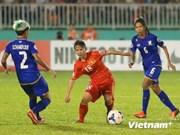 Vietnam entra en semifinal de fútbol femenino en ASIAD 17