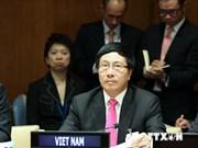 Vietnam respalda la misión de paz de la ONU