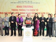 Vietnam inaugura página web sobre Asamblea General de IPU