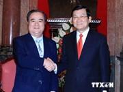 Presidente resalta cooperación con prefectura japonesa de Ibaraki