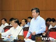 Concluye Comité parlamento vietnamita su trigésimosegunda reunión