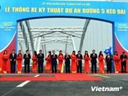 Nuevas obras viarias saludan aniversario de liberación de Hanoi