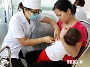 Lanzan campaña de vacunación de sarampión y rubéola en Vietnam