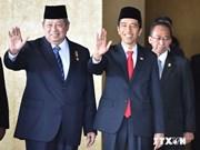 Joko Widodo jura como presidente de Indonesia