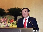 Parlamento vietnamita revisa labores anticrímenes