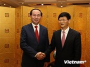 De visita en China ministro vietnamita de seguridad pública