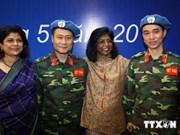 Vietnam activo en misiones de mantenimiento de la paz