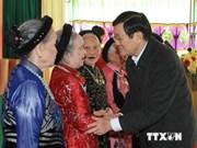Presidente asiste a fiesta de gran unidad nacional