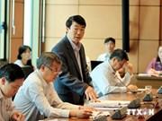 A debates proyecto de ley del Frente de la Patria de Vietnam
