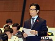 Legisladores vietnamitas instan a ajustes de ley de inversión