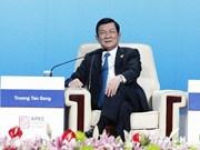 Presidente vietnamita interviene en XXII Cumbre de APEC