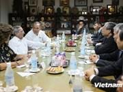 Partidos Comunistas de Vietnam y Cuba fortalecen relaciones de amistad