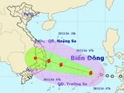 Azotará tormenta Sinlaku a provincias centrales de Vietnam