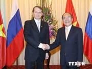 Presidente de Duma estatal de Rusia inicia visita a Vietnam