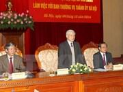 Hanoi aportará ideas constructivas a Congreso Partidista