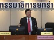 Borrador de nueva constitución tailandesa excluye ley de amnistía